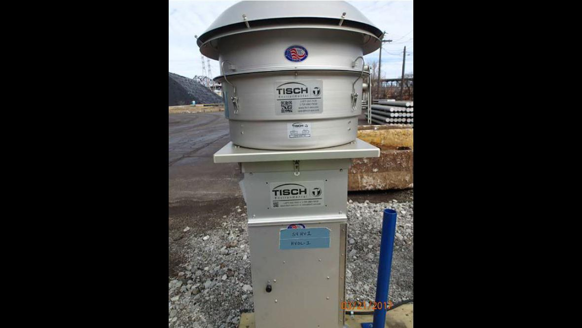 Air quality monitors were installed last spring at S.H. Bell. (EPA)