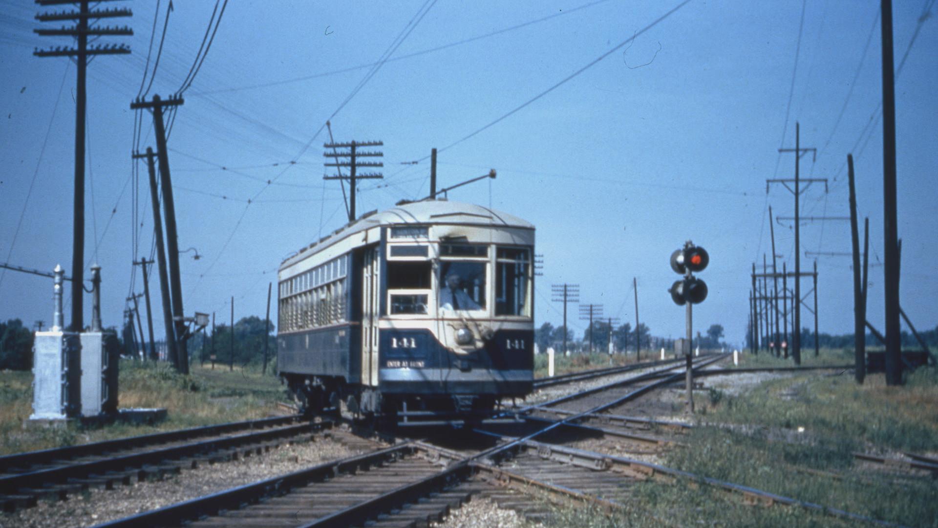 Railroad St Evans City