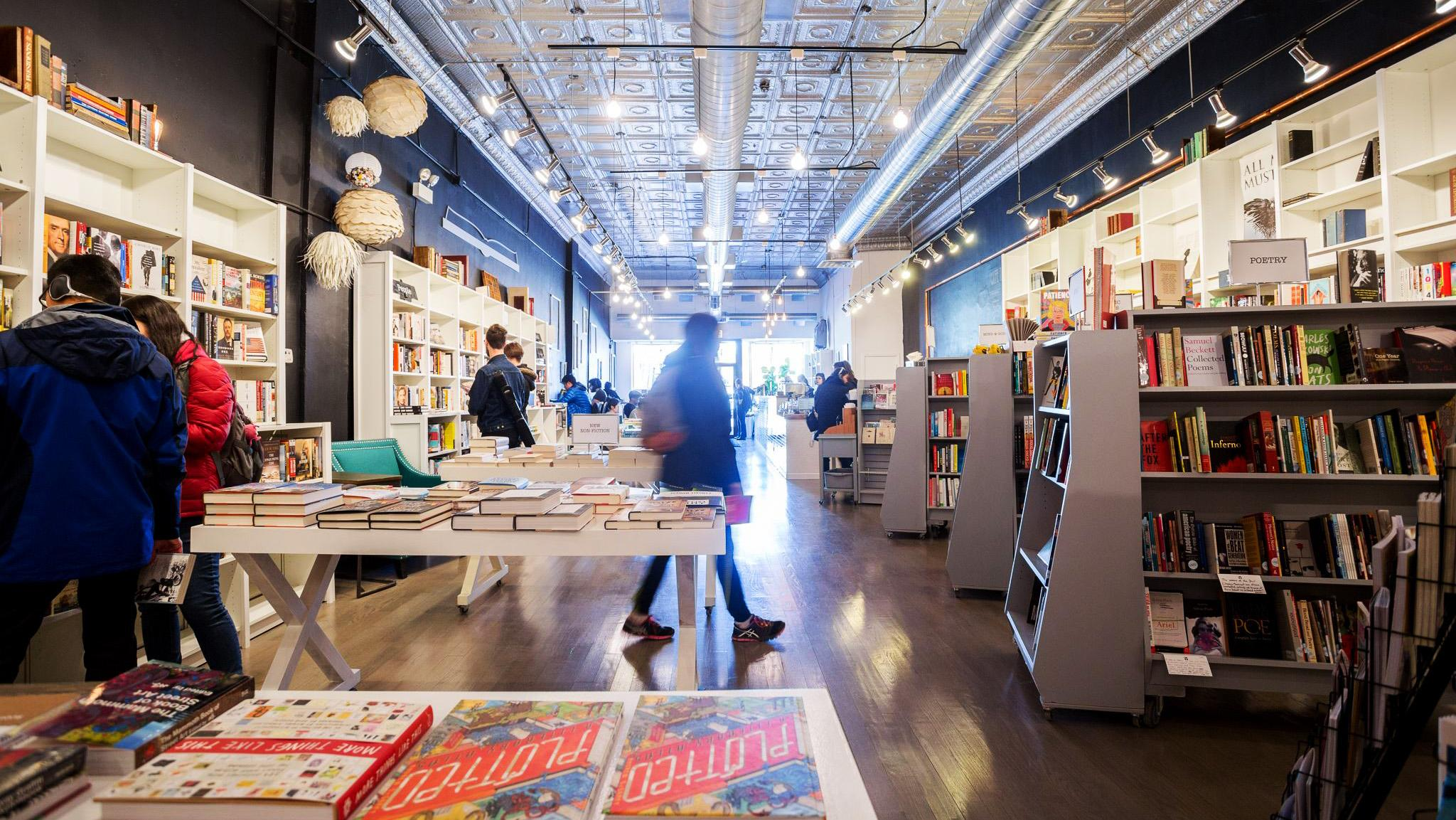 Volumes Bookcafe is one of two dozen bookstores participating in #MyChicagoBookstore Challenge in honor of Independent Bookstore Day. (Courtesy of Volumes Bookcafe)