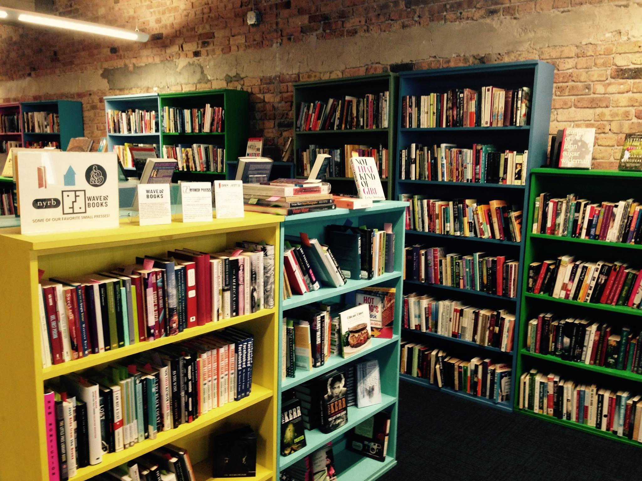 Open Books, with locations in the West Loop and Pilsen, is one of approximately 25 stores participating in the #MyChicagoBookstore Challenge. (Courtesy of Open Books)