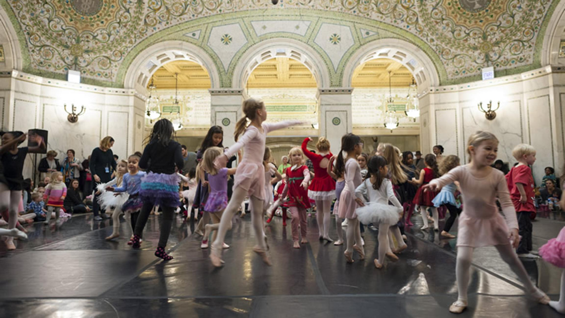 Sugar plum fairies of all ages can dress up and boogie down this weekend. (Courtesy of City of Chicago)