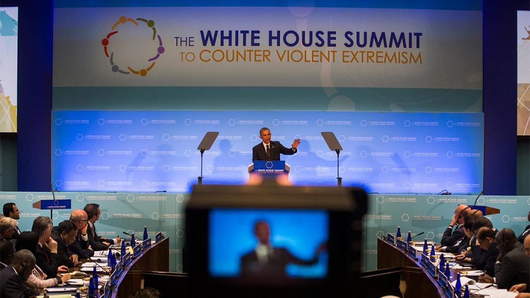 In 2015, former President Barack Obama hosted the White House Summit on Countering Violent Extremism. (Polarism)