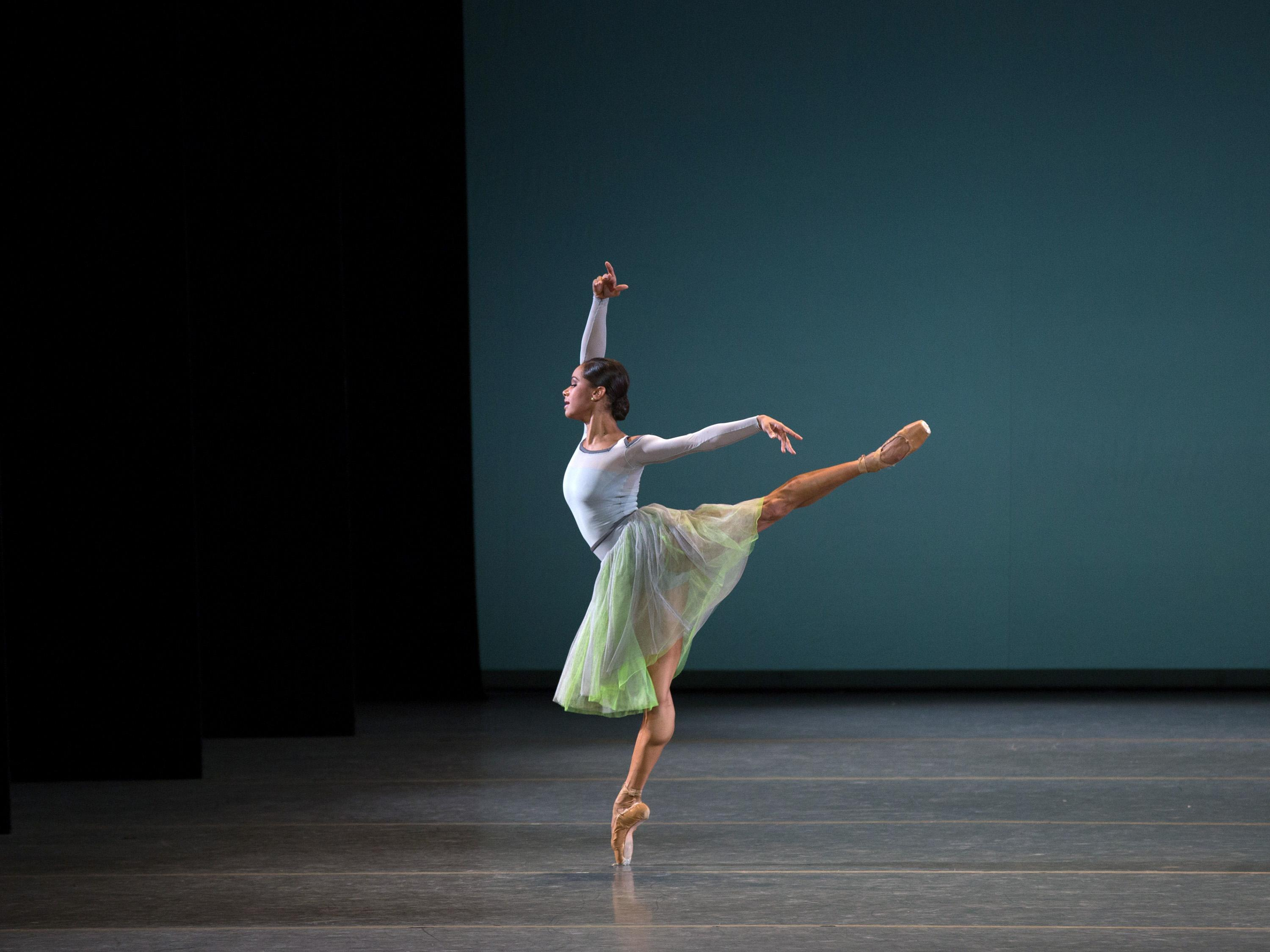 "Misty Copeland in ""Her Notes."" (Credit: Rosalie O'Connor)"
