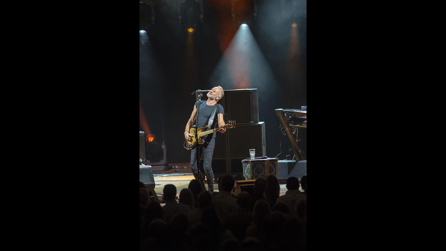 Sting performs at the Ravinia Festival Pavilion. (Ravinia Festival / Patrick Gipson)