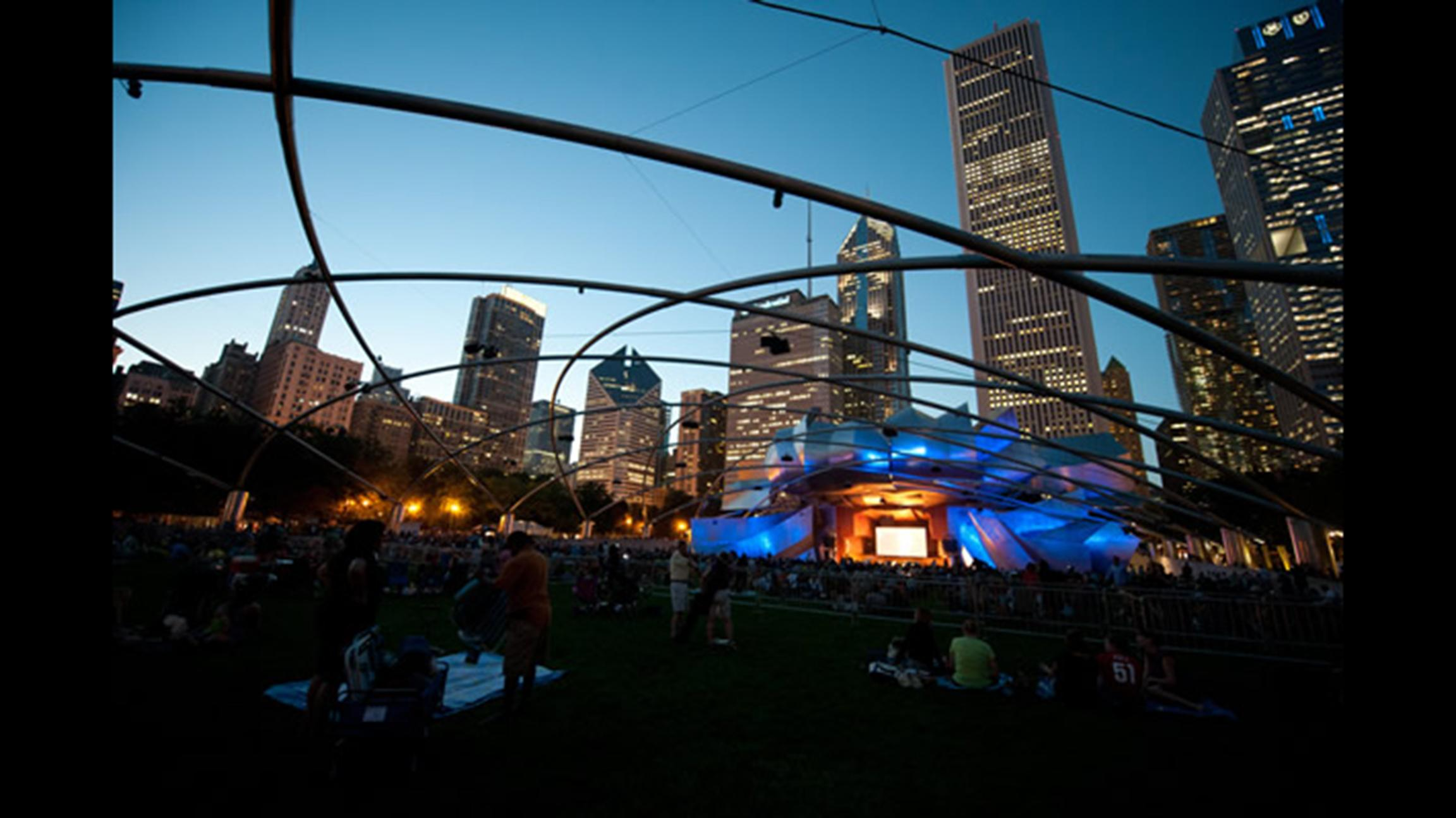Jazz up your weekend at Millennium Park. (Courtesy of City of Chicago)