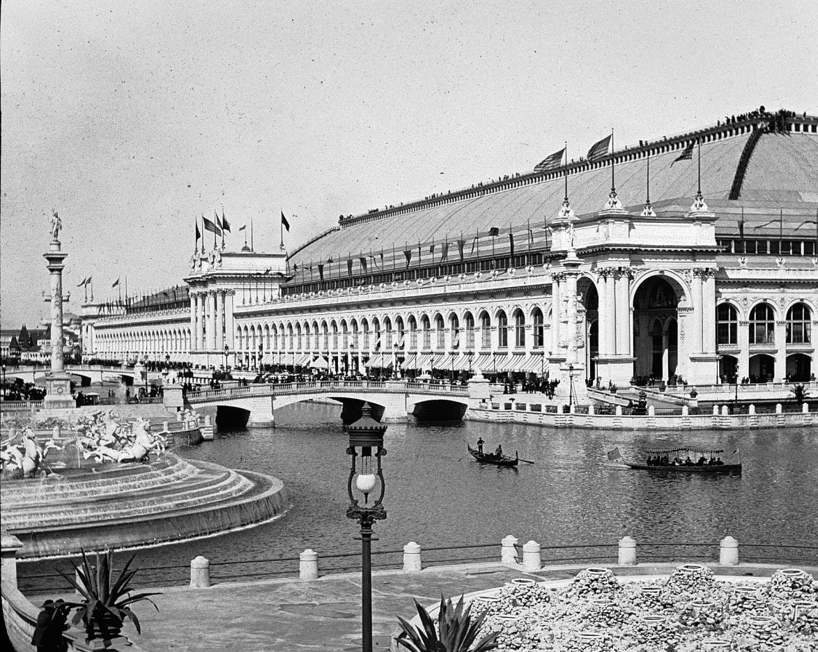 George B. Post's behemoth Manufacturers and Liberal Arts Building at the 1893 World's Columbian Exposition.