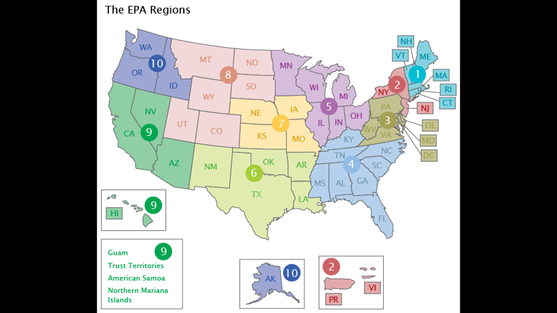 The EPA's Chicago-based Region 5 office coordinates the agency's work in Illinois, Indiana, Ohio, Michigan, Wisconsin and Minnesota. (EPA)
