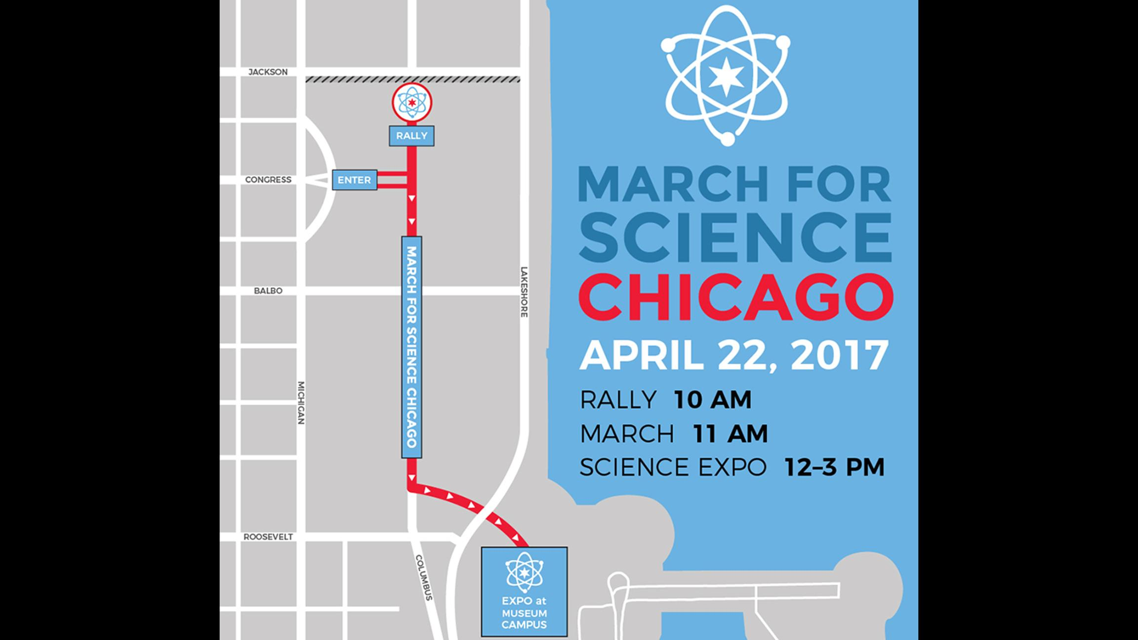 (March for Science Chicago)
