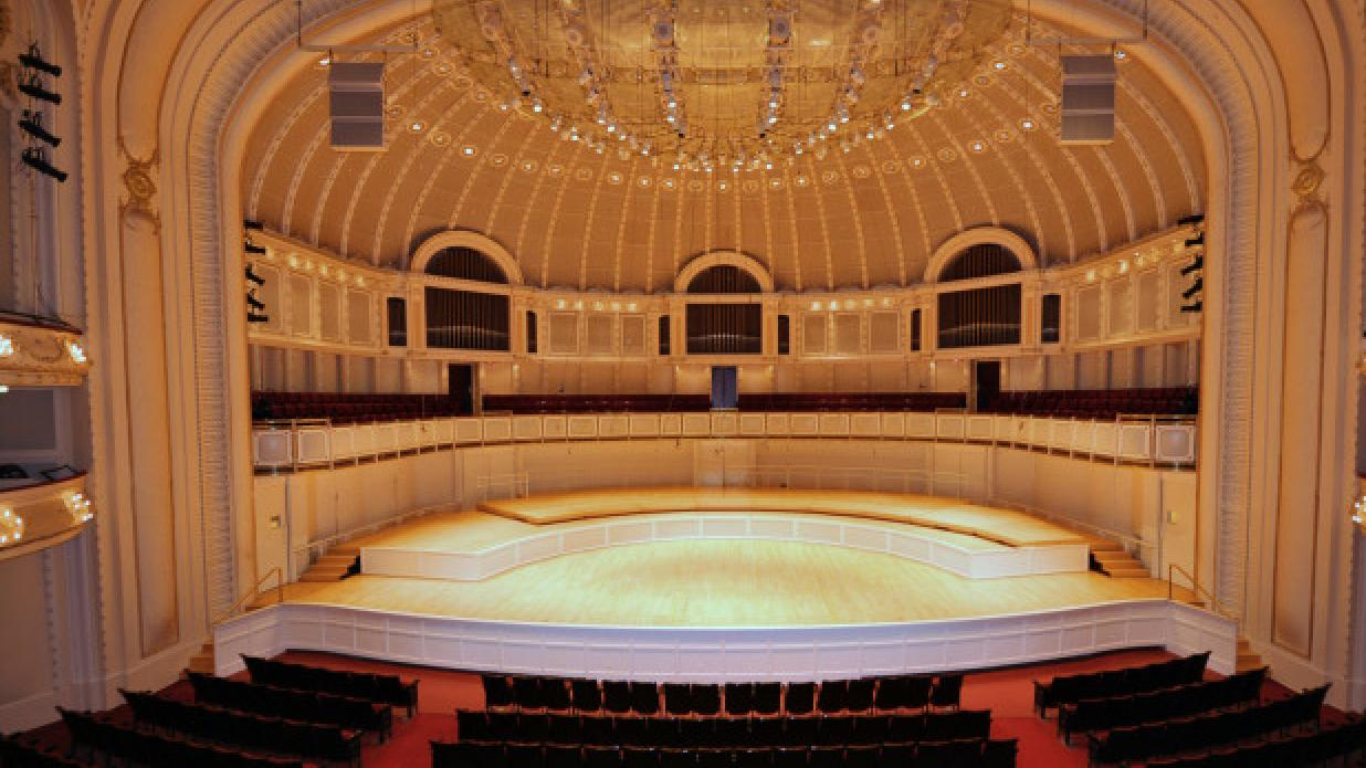 The Nichols Concert Hall houses performances held with the Bach Week Festival. (Courtesy of Jazz 4 Us)