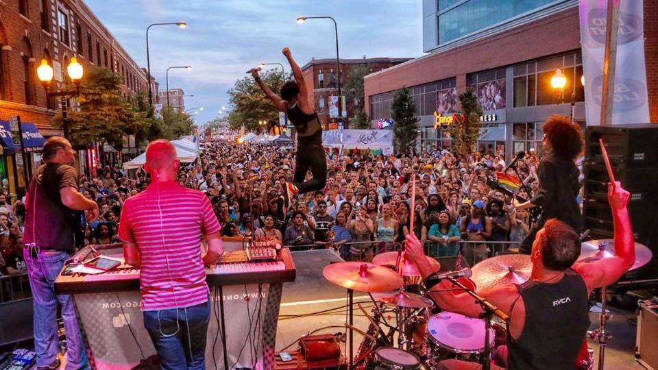 Chicago Pride Fest includes dozens of performances across three stages. (Chicago Pride Fest / Facebook)