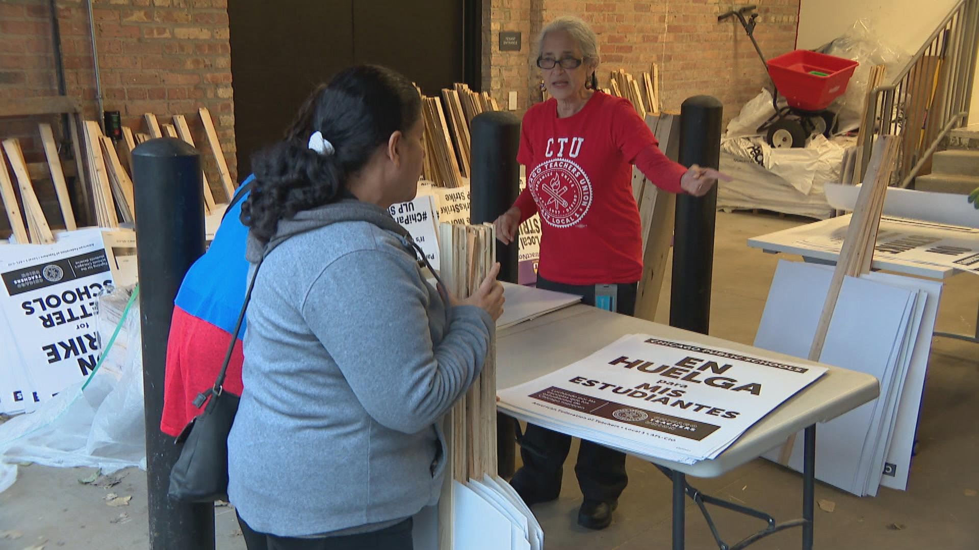 CPS teachers and support staff planned to hit the picket lines at 6:30 a.m. Thursday.