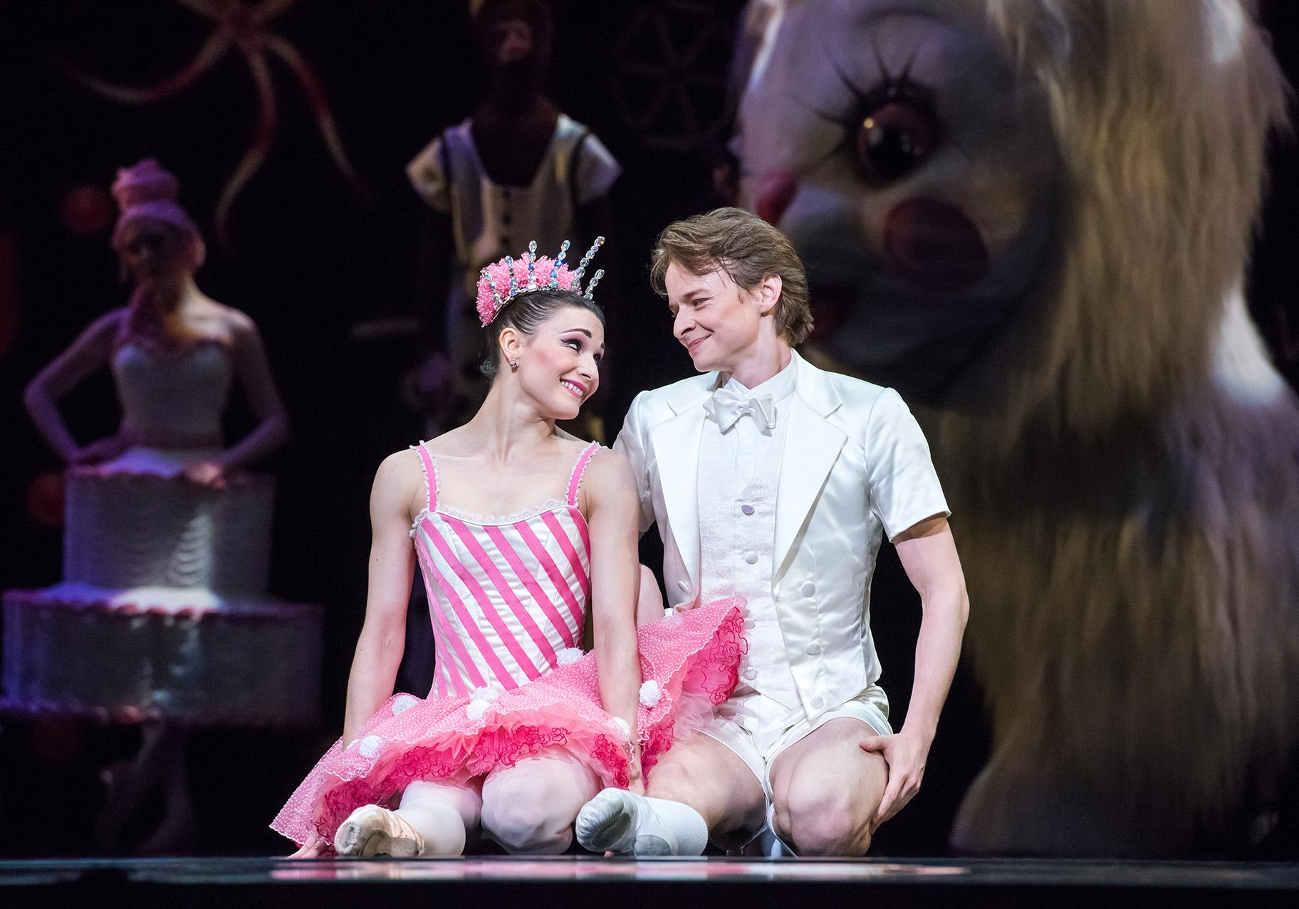 "Sarah Lane and Daniil Simkin in ""Whipped Cream."" (Photo: Doug Gifford)"