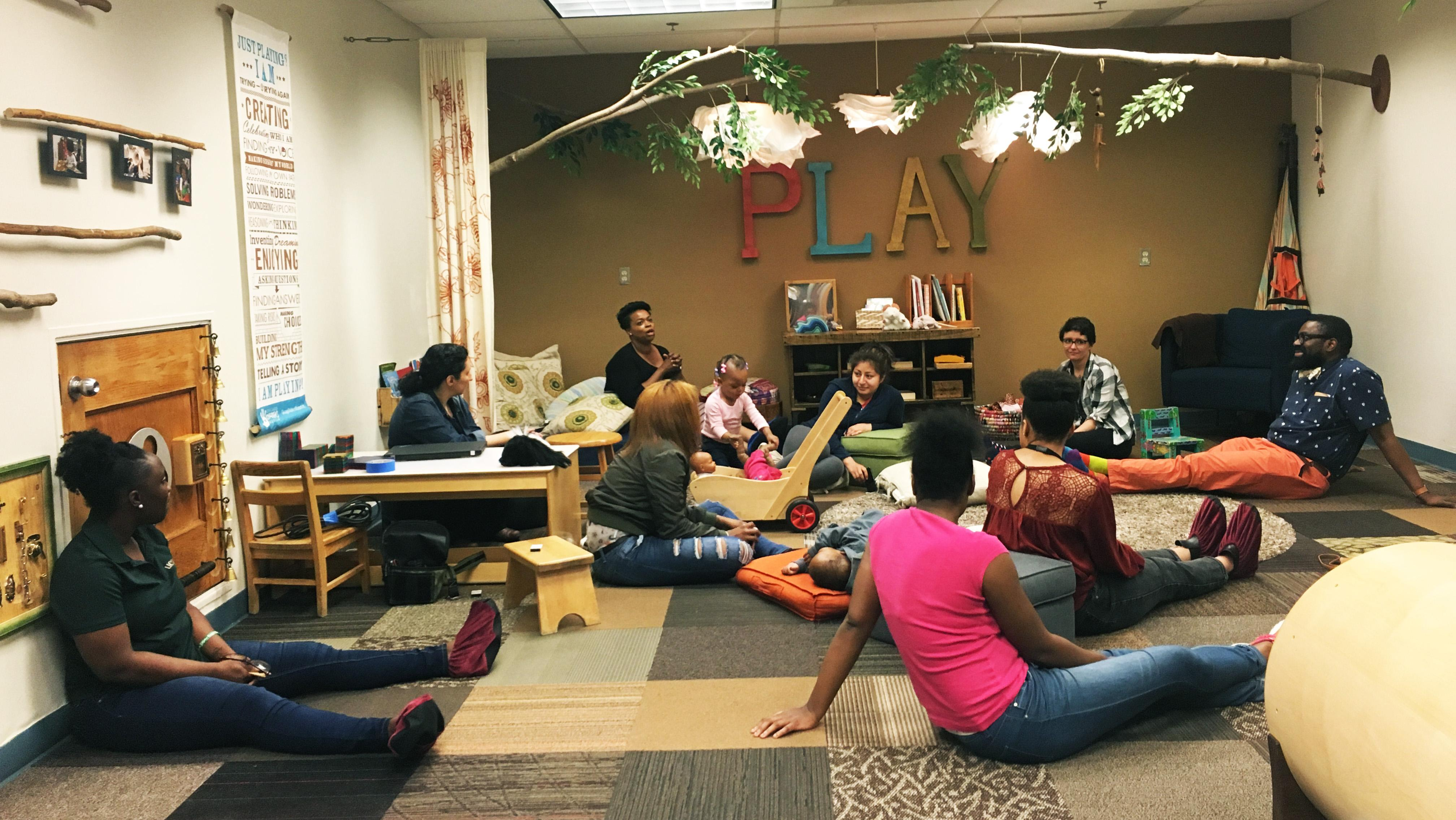 Participants, facilitators and organizers talk about what the WePlay program has meant to them as the 12-week session comes to an end. (Maya Miller / Chicago Tonight)