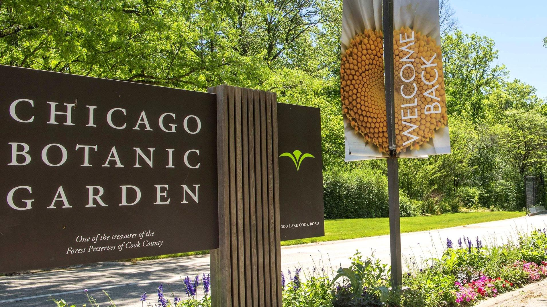 The Chicago Botanic Garden is welcoming visitors back starting June 24. (Chicago Botanic Garden)