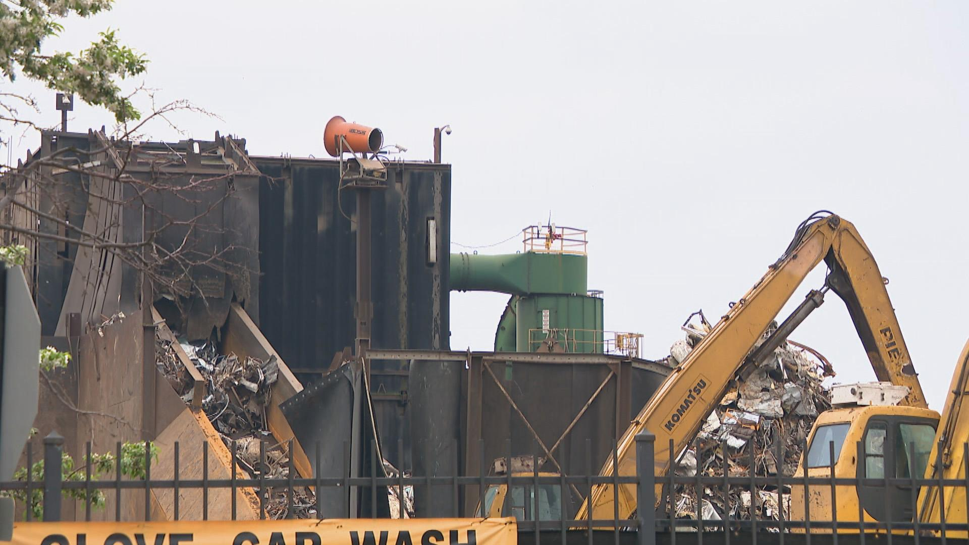 General Iron is planning to move its metal shredding operation from Lincoln Park to the Southeast Side. (WTTW News)