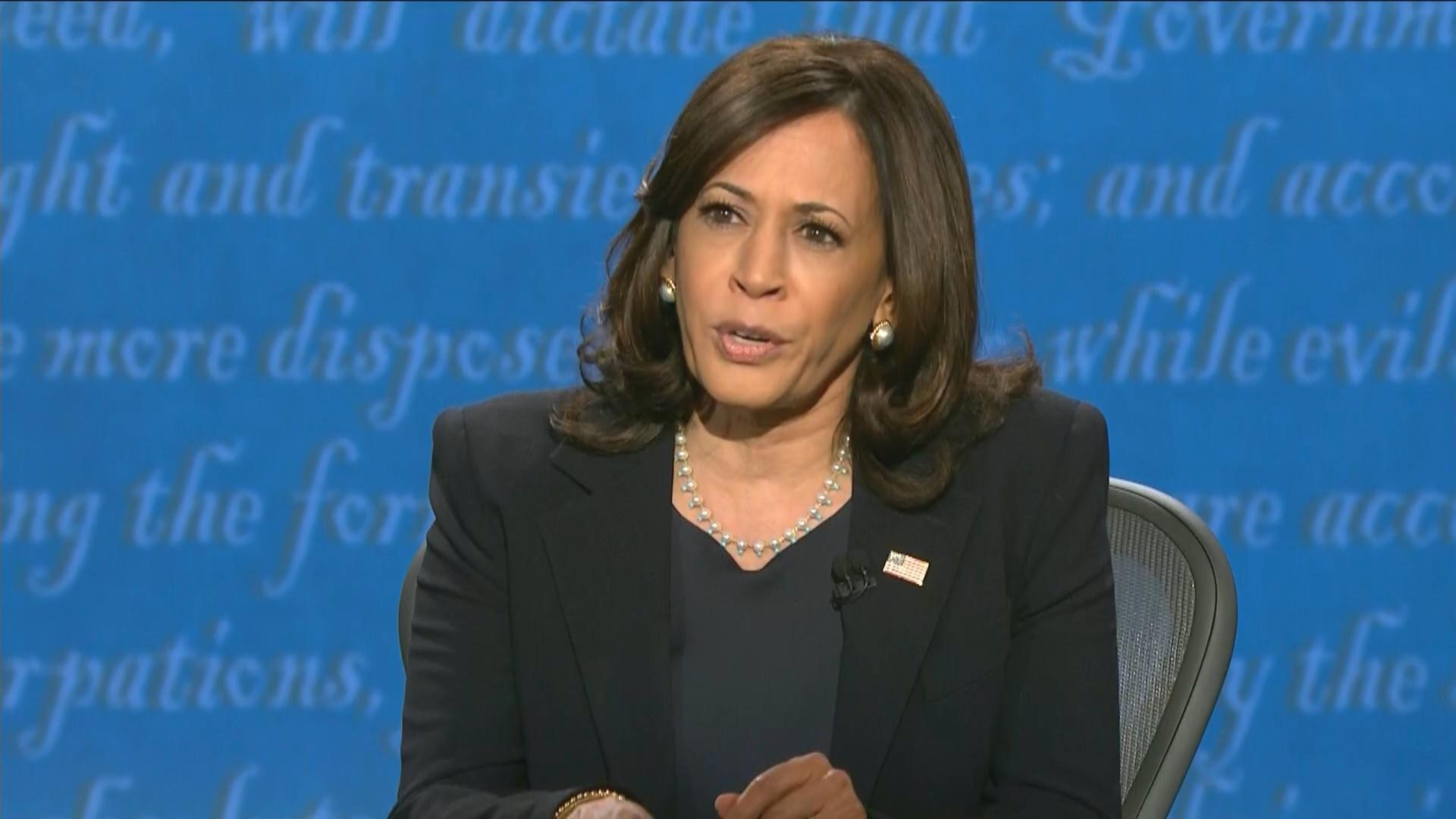 A file photo of Kamala Harris, who was sworn in Jan. 20, 2021 as vice president of the United States. (WTTW News via CNN)