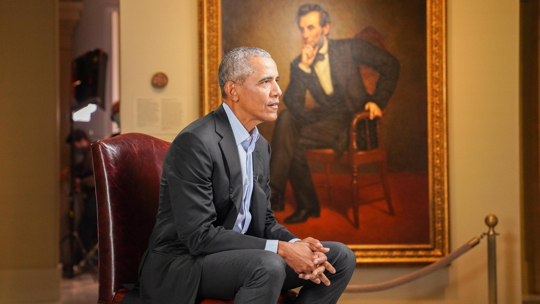 "Former President Barack Obama sat for a recent interview with ""60 Minutes."" (60 Minutes / Facebook)"