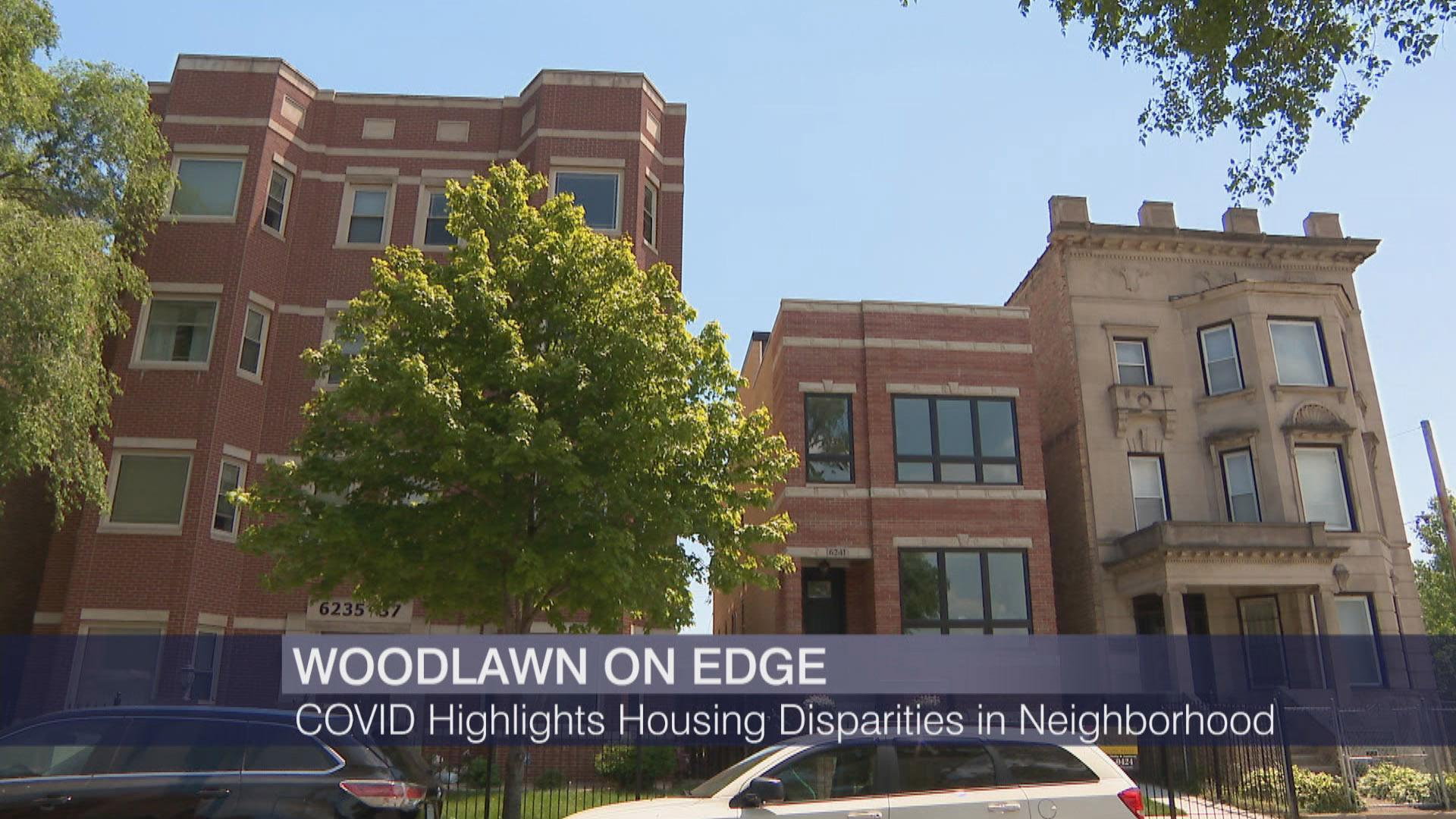 "Chicago's Woodlawn neighborhood was featured as part of our COVID-19 Across Chicago series on ""Chicago Tonight"" on June 17, 2020. (WTTW News)"