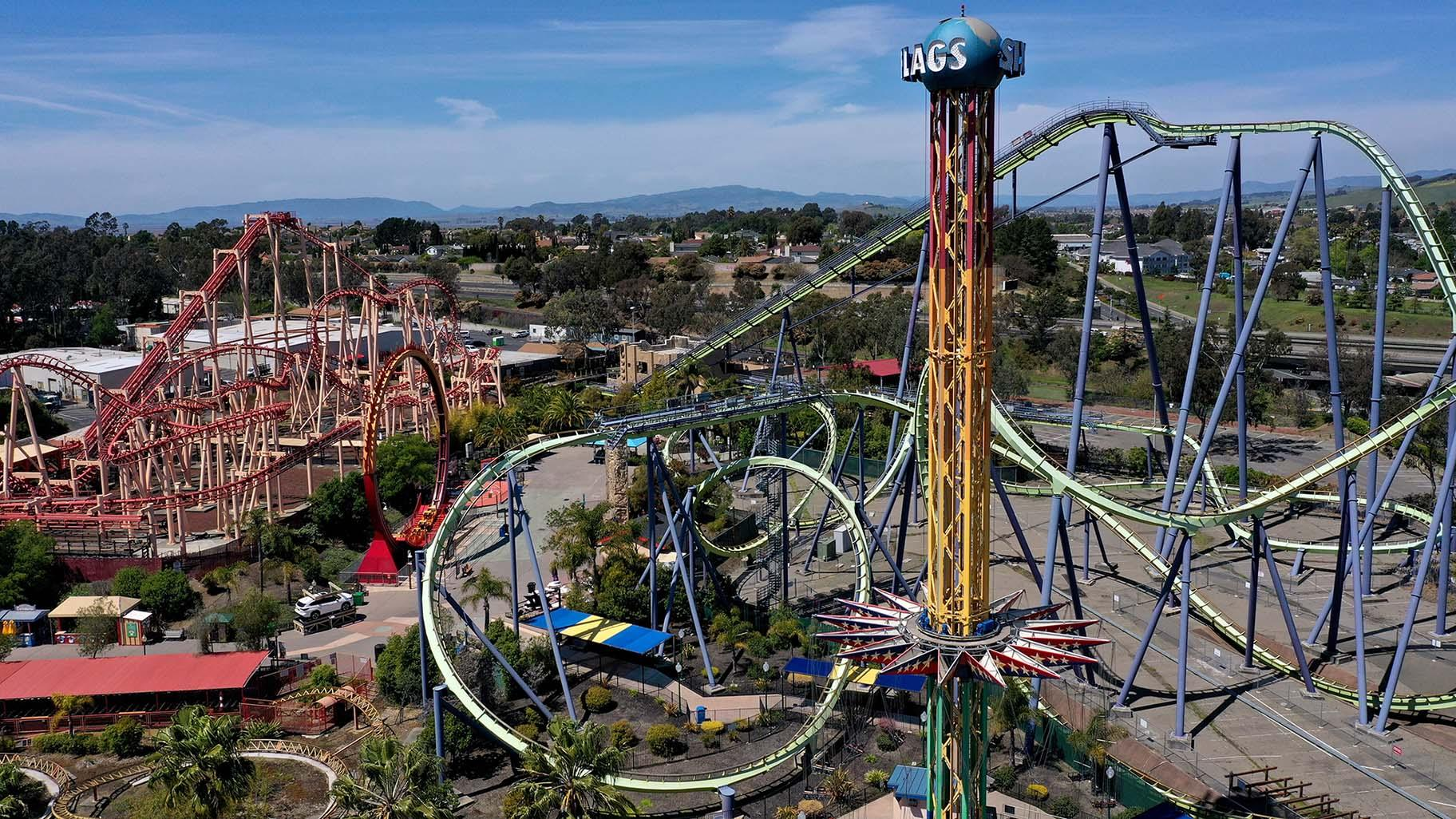Six Flags Plans To Open All Of Its Amusement Parks For 2021 Season Chicago News Wttw
