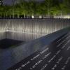 Memorial pool names parapet. Image Credit: Squared Design Lab