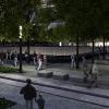 Memorial pool corner. Image Credit: Squared Design Lab