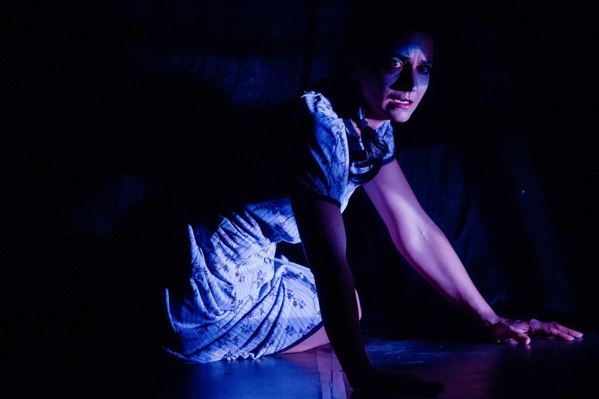 "Melissa Lorraine in András Visky's ""Juliet"" directed by Kevin V. Smith at Theatre Y. (Credit: Devron Enarson)"