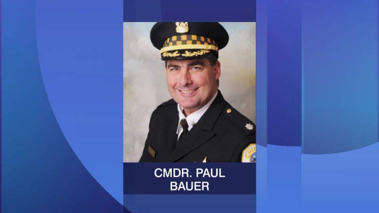 Chicago police Cmdr. Paul Bauer