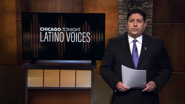 "Michael Puente of WBEZ guest hosts ""Latino Voices."" (WTTW News)"