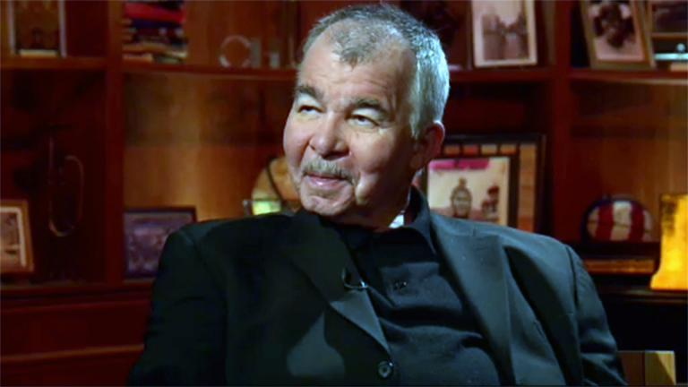 "John Prine appears on ""Chicago Tonight"" on May 12, 2010."