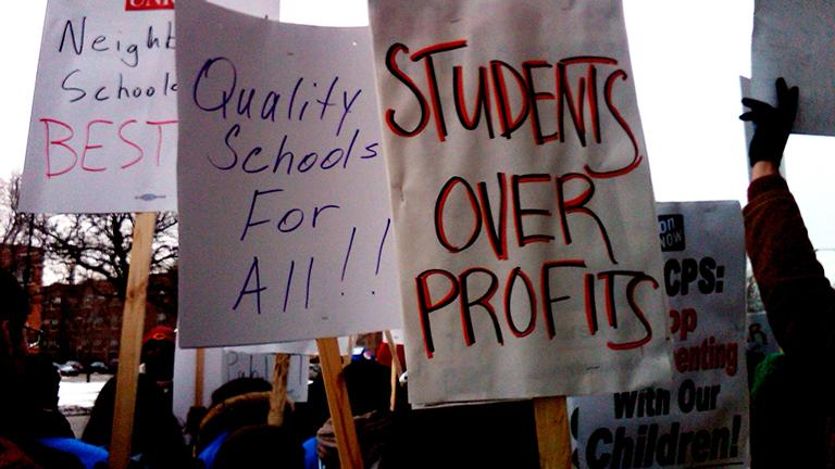 The group Parents 4 Teachers hopes that a package of ordinances introduced Wednesday in City Council will increase funding to CPS. (Parents 4 Teachers)