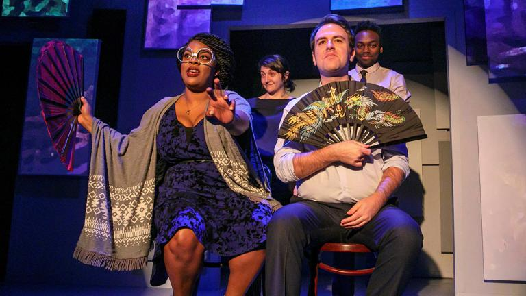 """The Second City's """"The Winner … of Our Discontent"""" is one of the productions offering discounted tickets as part of Chicago Theater Week. (Courtesy of Todd Rosenberg)"""