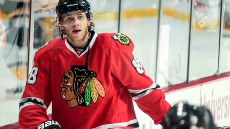 Patrick Kane (Photo by Sarah A. / Flickr)