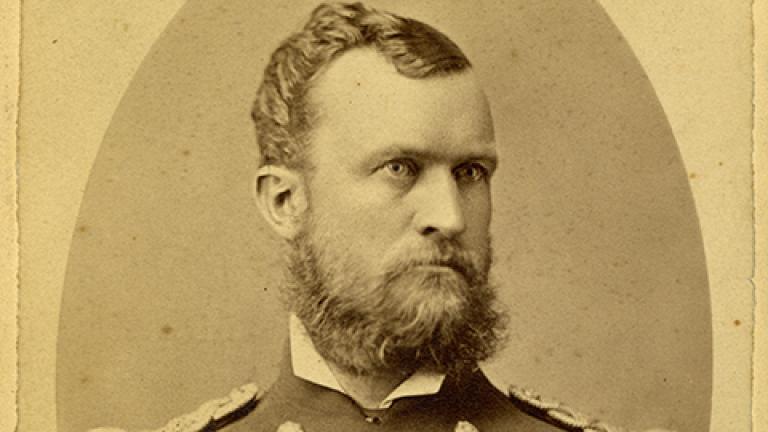 Erasmus Corwin Gilbreath, circa 1870s.