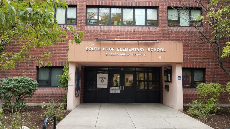 South Loop Elementary (Matt Masterson / Chicago Tonight)