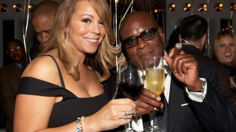 L.A. Reid with Mariah Carey. (Courtesy L.A. Reid)