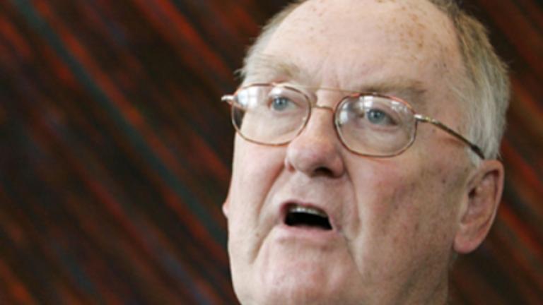 Former Illinois Gov. Jim Thompson. Image Credit: WBEZ