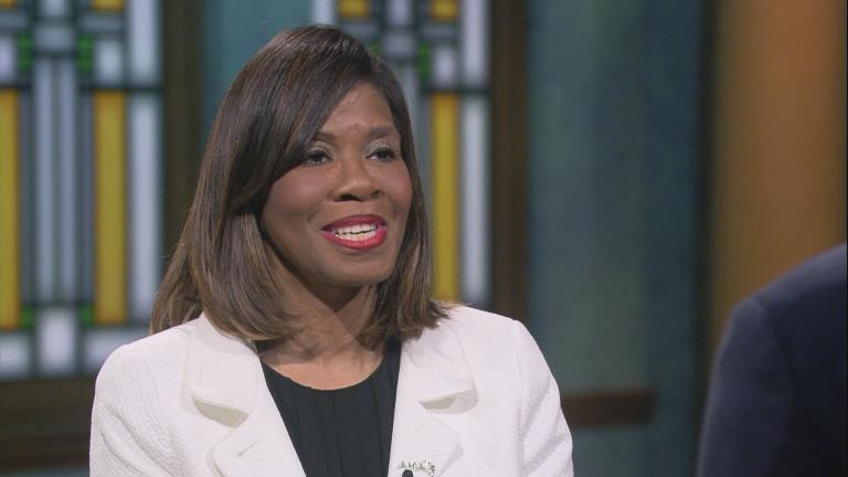 "Dr. Patrice Harris appears on ""Chicago Tonight."""
