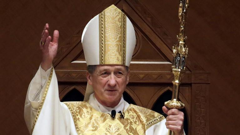 Archbishop Blase Cupich (Charles Rex Arbogast / AP File Photo / Pool)