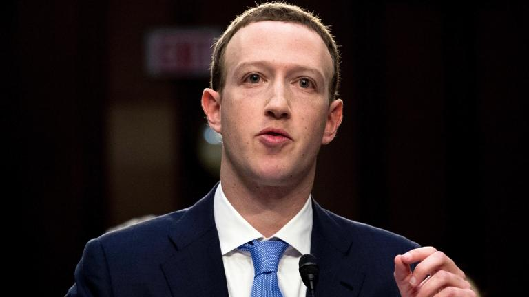In this April 10, 2018, file photo, Facebook CEO Mark Zuckerberg testifies before a joint hearing of the Commerce and Judiciary Committees on Capitol Hill in Washington. (AP Photo / Andrew Harnik, File)