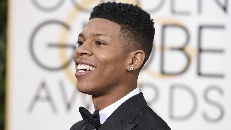 In this Jan. 10, 2016 file photo, Bryshere Y. Gray arrives at the 73rd annual Golden Globe Awards in Beverly Hills, California. (Photo by Jordan Strauss / Invision / AP File)