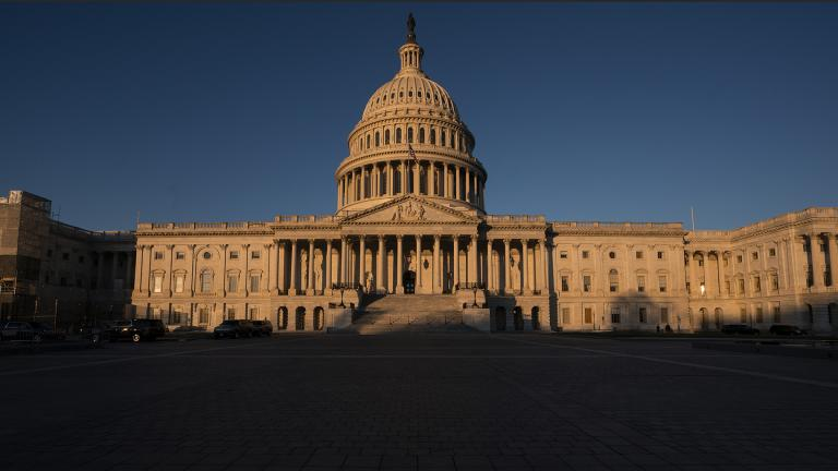 The Capitol is seen in Washington, early Wednesday, Dec. 18, 2019. President Donald Trump is on the cusp of being impeached by the House, with a historic debate set Wednesday on charges that he abused his power and obstructed Congress ahead of votes that will leave a defining mark on his tenure at the White House. (AP Photo / J. Scott Applewhite)