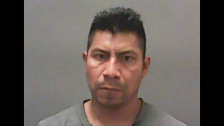 This undated photo provided by the Newton County Sheriff's Office in Kentland, Indiana, shows Edgar Gardozo-Vasquez. (Newton County Sheriff's Office via AP)
