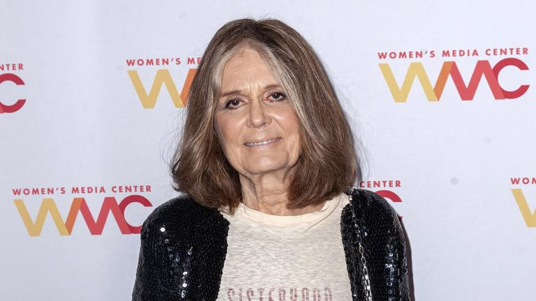 This Oct. 22, 2019 file photo shows Gloria Steinem at the 2019 Women's Media Awards in New York. (Photo by Christopher Smith / Invision / AP, File)