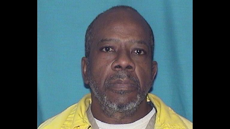 This undated photo provided by the Illinois Department of Corrections shows Larry Earvin, a former inmate at Western Illinois Correctional Center in Mt Sterling, Ill.(Illinois Department of Corrections via AP)