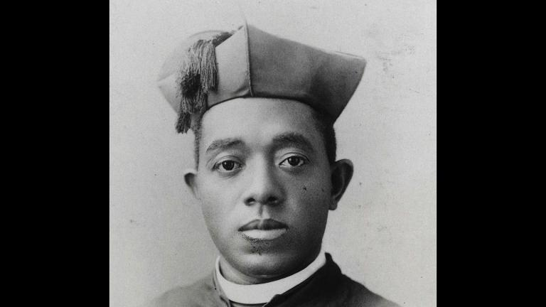 This undated shows the Rev. Augustine Tolton. Pope Francis has positioned for sainthood a former slave and the first known black priest in America. (Photo courtesy the Diocese of Springfield via AP)