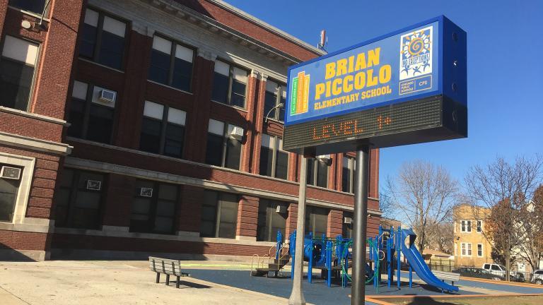 Piccolo Elementary School (Brandis Friedman / Chicago Tonight)