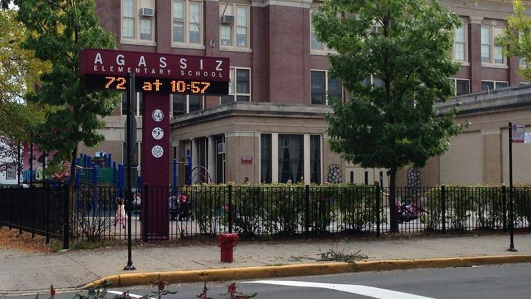 An undated photo shows Agassiz Elementary School in Chicago. (Facebook photo)