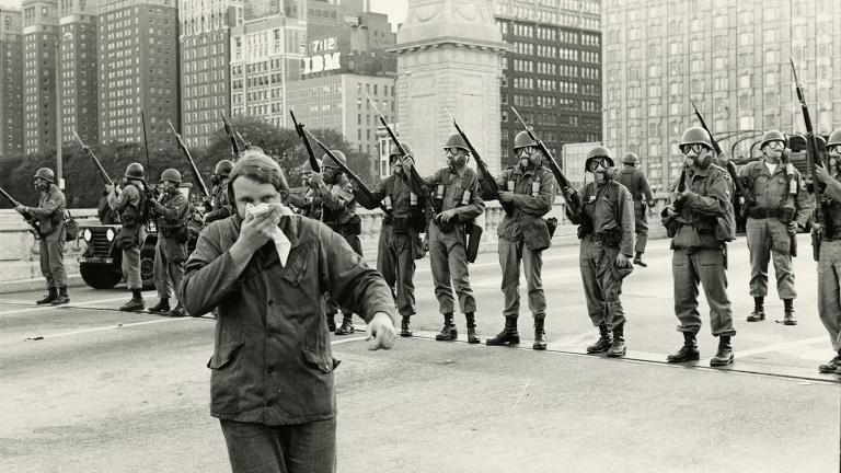 Grant Park, 1968 (Courtesy Al Lieberman)