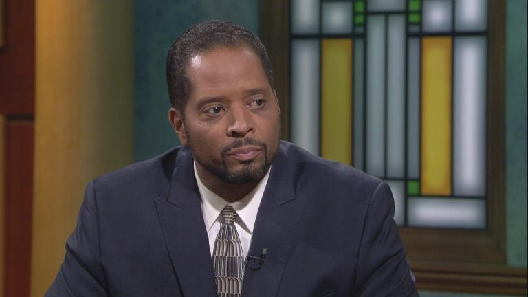 "Ald. Anthony Beale appears on ""Chicago Tonight"" on Sept. 23, 2019."
