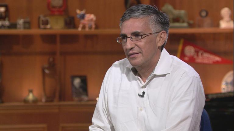 "Ald. Ricardo Munoz appears on ""Chicago Tonight"" on July 23, 2018. (WTTW News)"